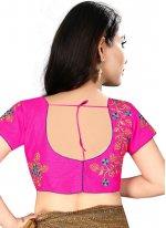 Pleasing Rani Color Designer Blouse