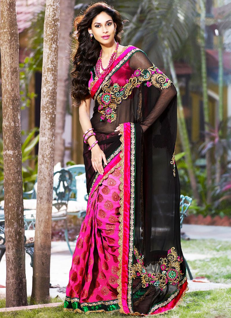 Embroidered Sari