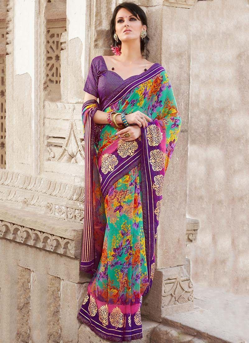 Women's Clothing Amiable Blue Sari Blouse Designer Wear Indian Wedding Bridal Bollywood Lehenga Saree Net Other Women's Clothing
