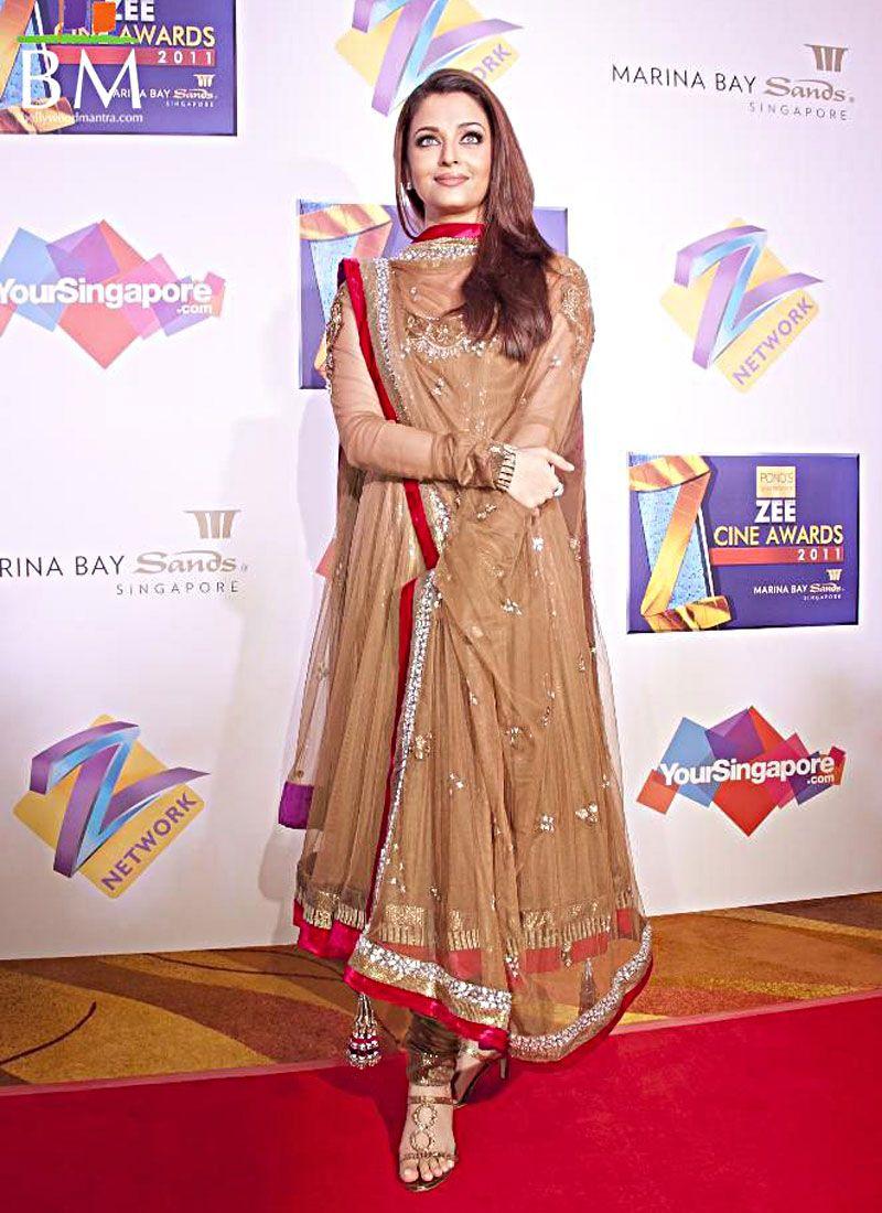 Brick Red & Brown Bollywood Salwar Kameez