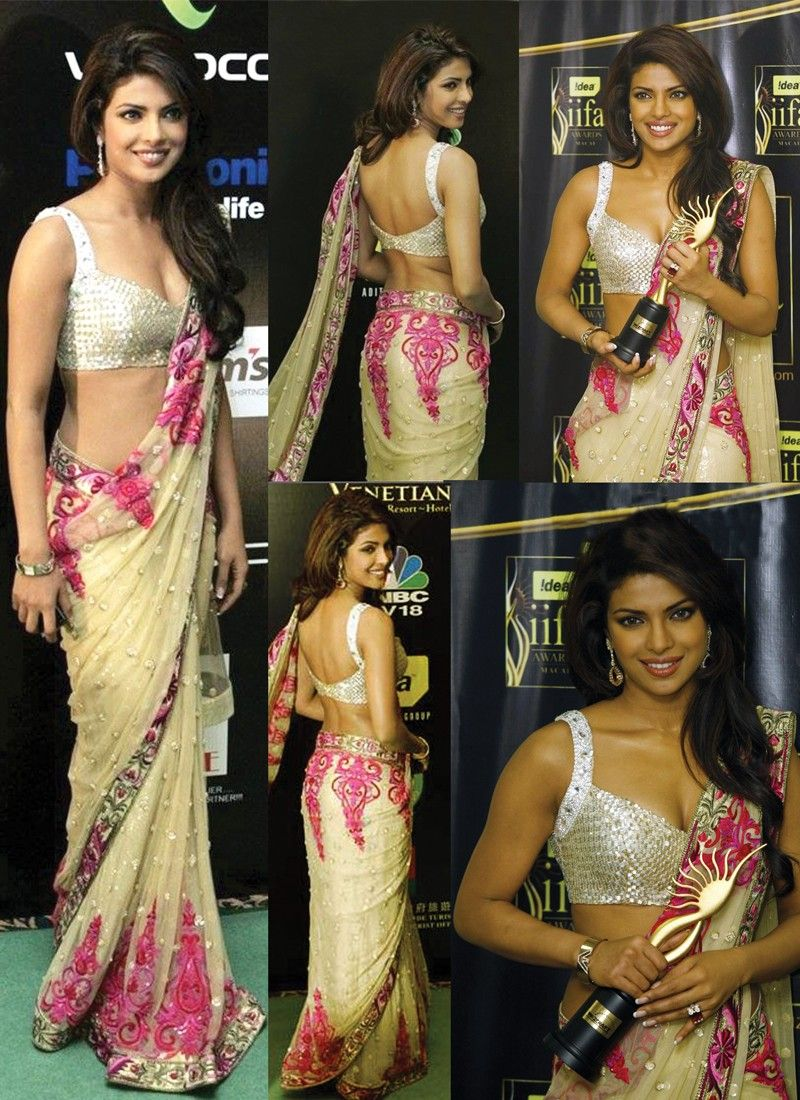 Priyanka Chopra Net Saree