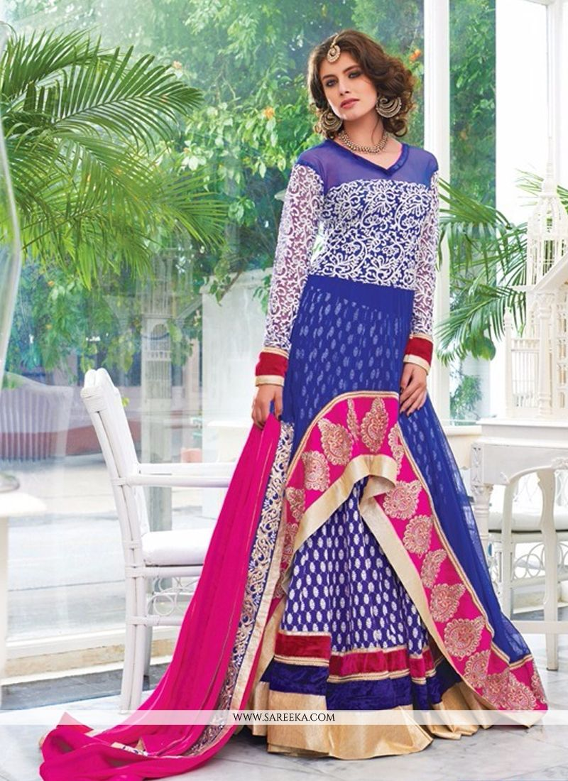 Patch Border Work Designer Salwar Kameez