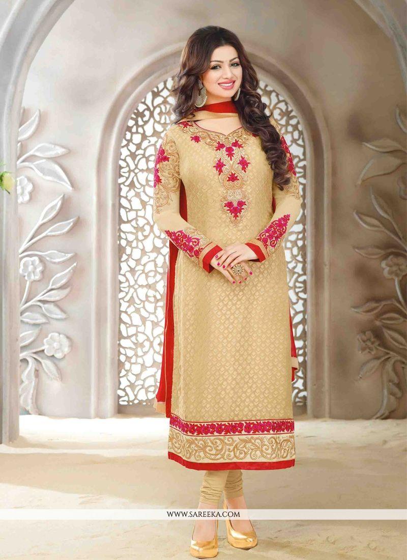 Ayesha Takia Brasso Designer Straight Salwar Suit