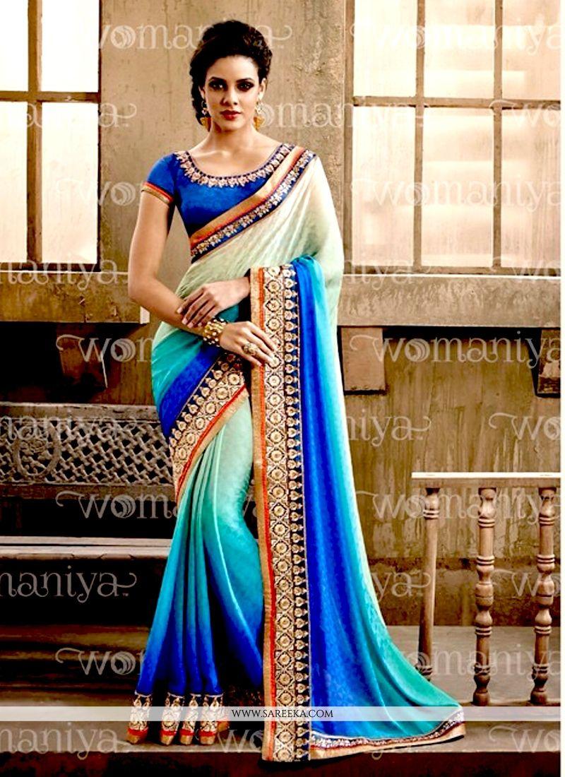 Jacquard Zari Work Designer Saree