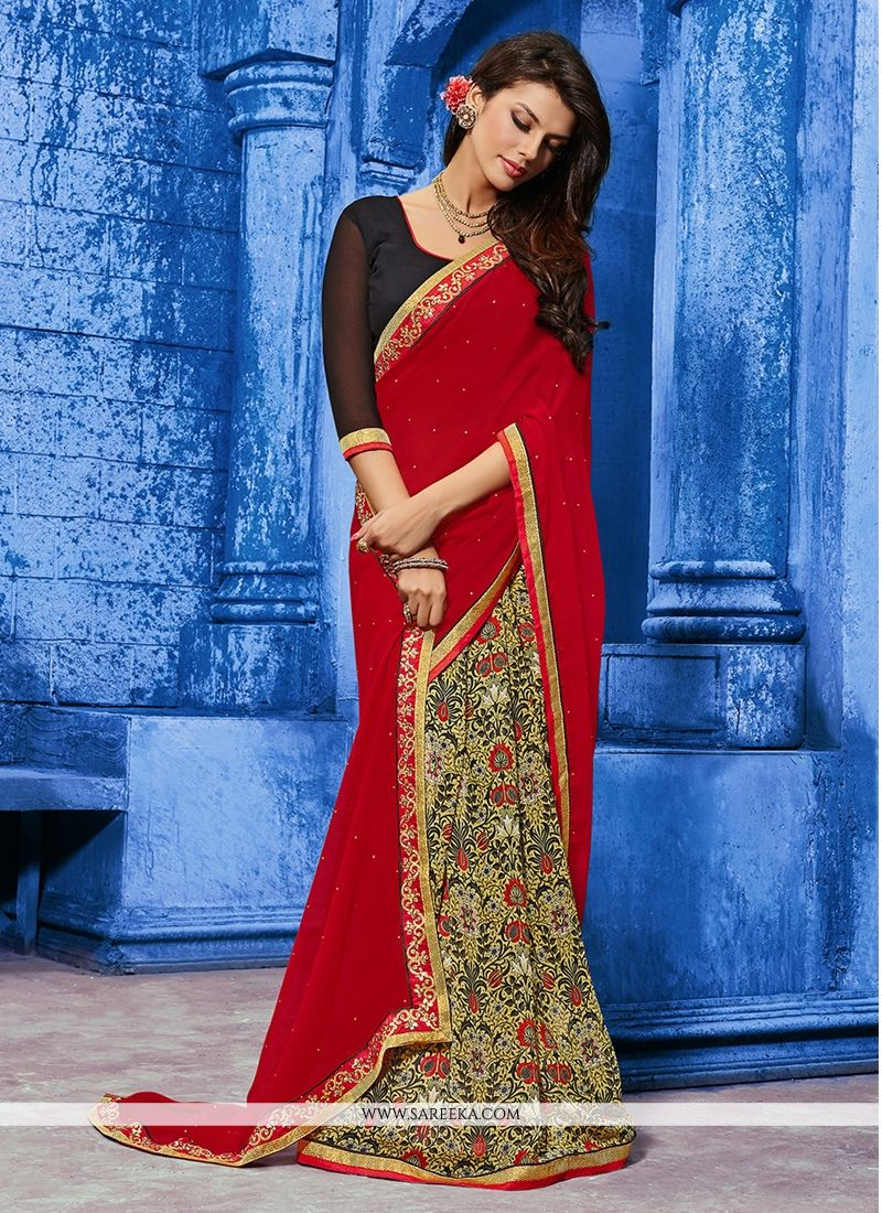 Weight Less Designer Saree