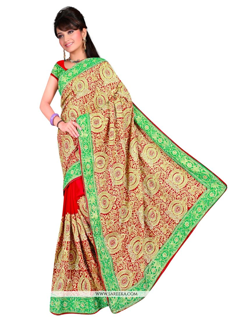 Georgette Contemporary Style Saree