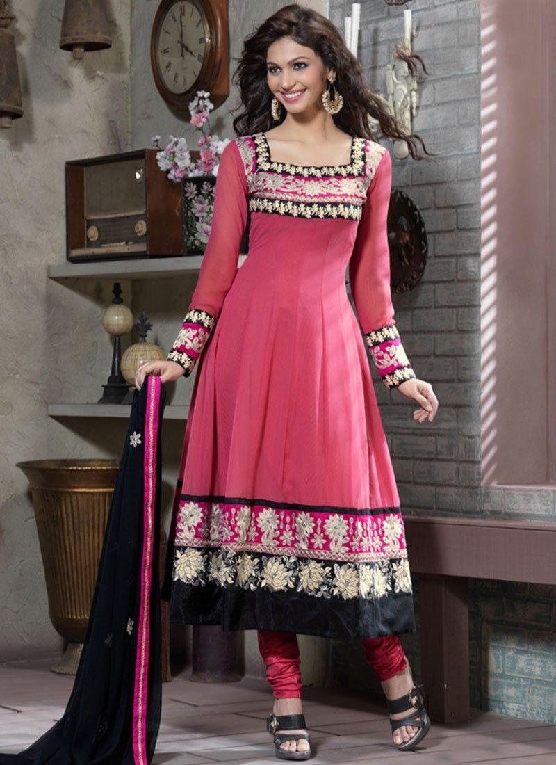 Diva Deep Pink Anarkali