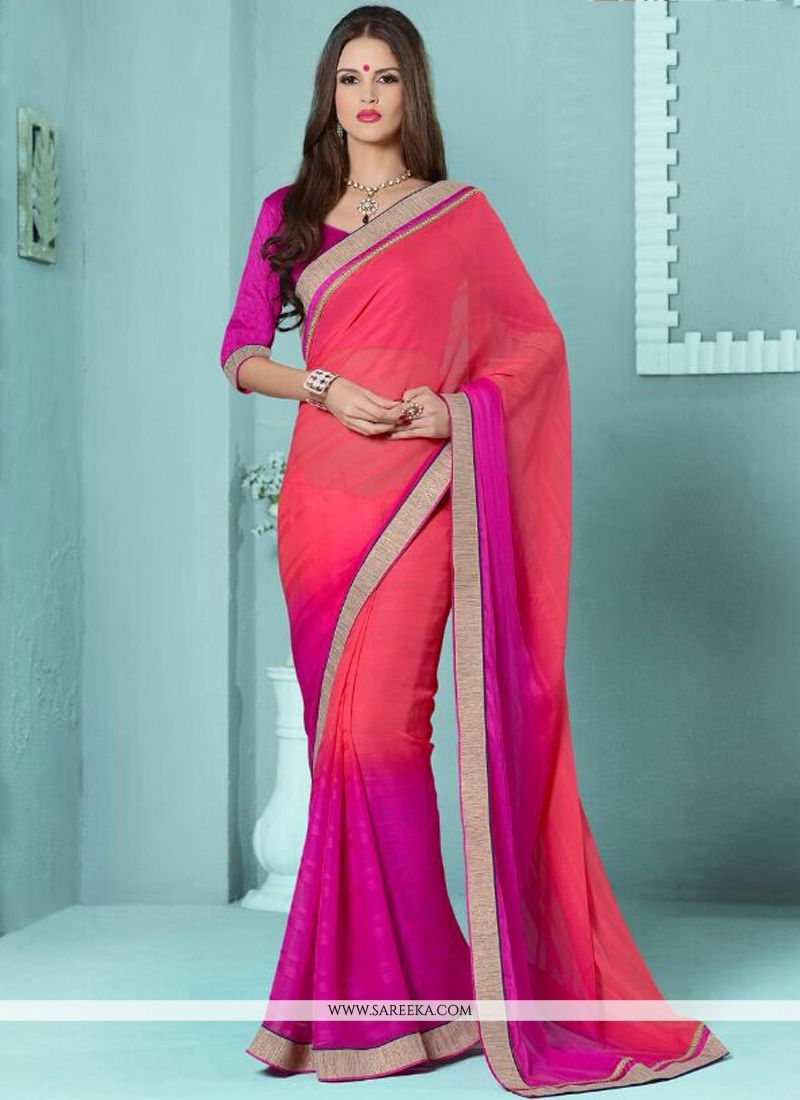Magenta Casual Saree