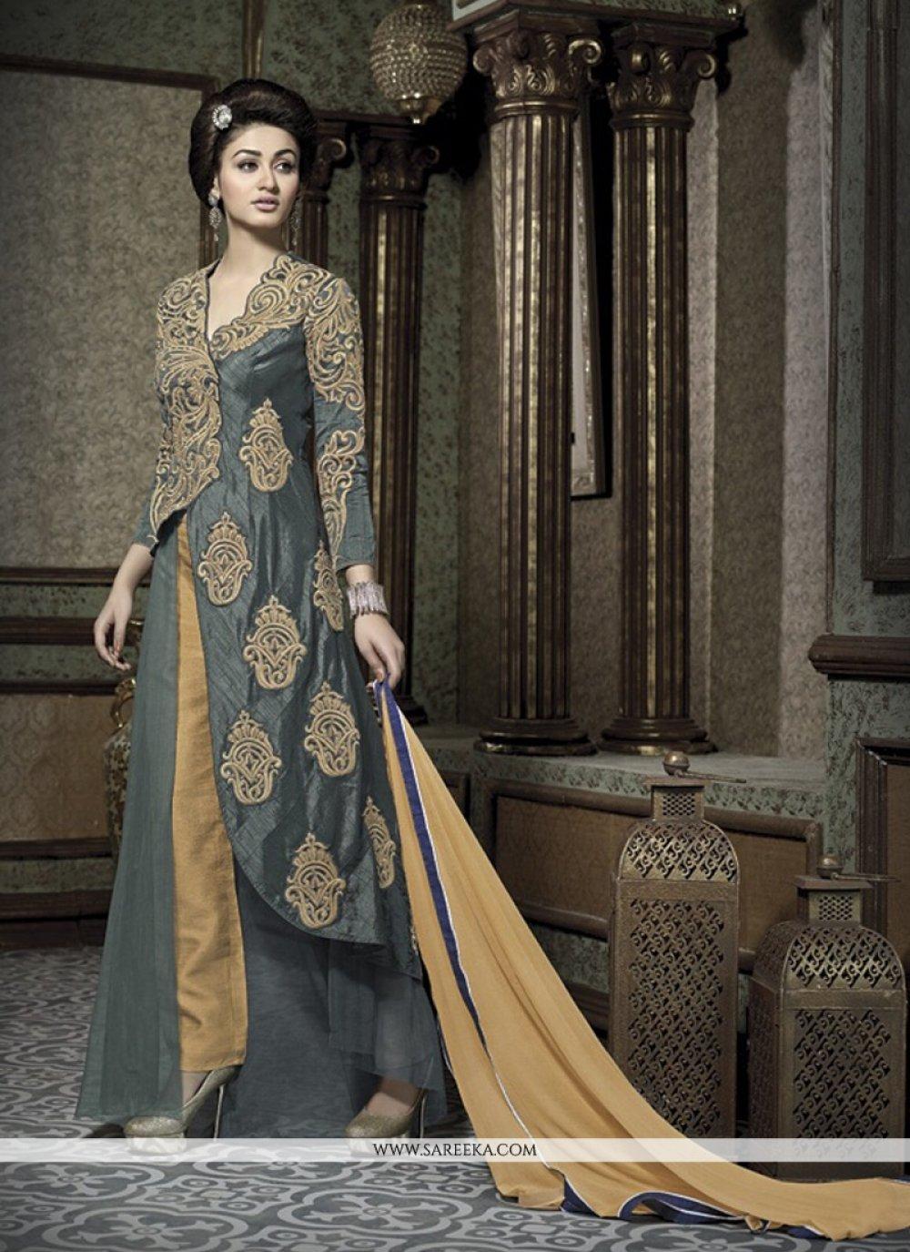 Banarasi Silk Designer Salwar Suit