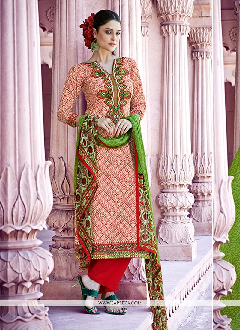 Cotton   Designer Pakistani Salwar Suit
