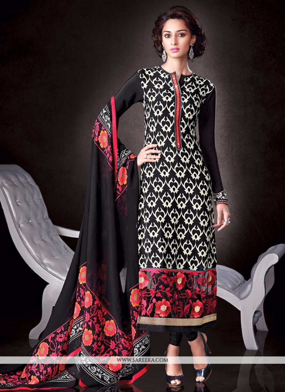 Print Work Designer Pakistani Salwar Suit