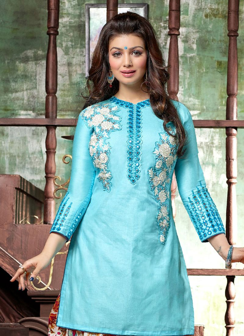 Cotton Designer Patiala Suit -
