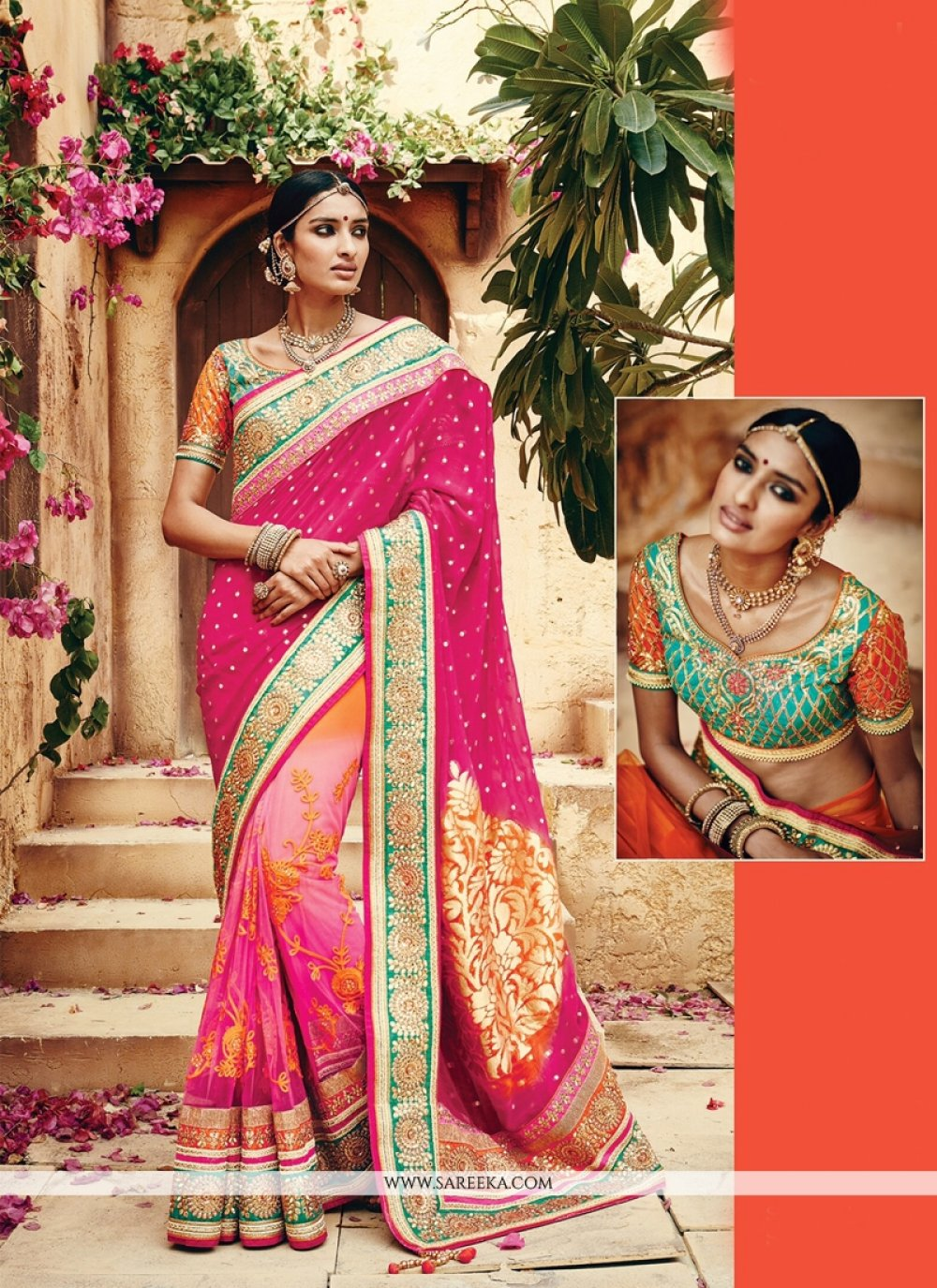 Banarasi Silk Embroidered Work Classic Designer Saree