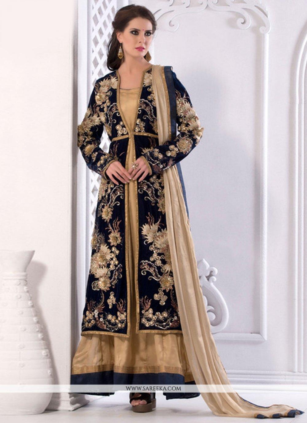 Shimmer Georgette Designer Salwar Suit