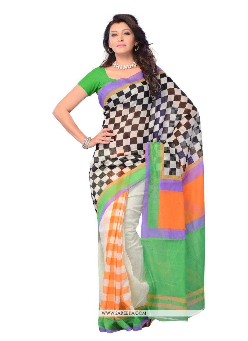 Multi Colour Casual Saree