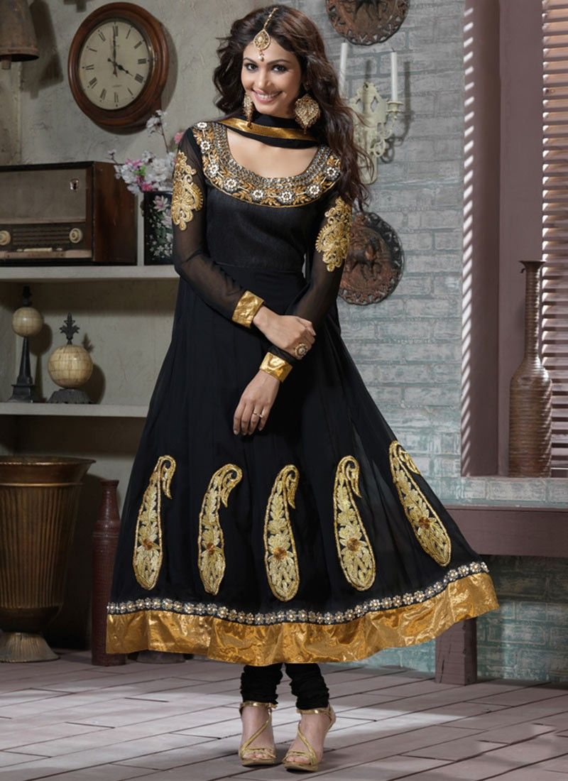 Gorgeous Black Anarkali Suit