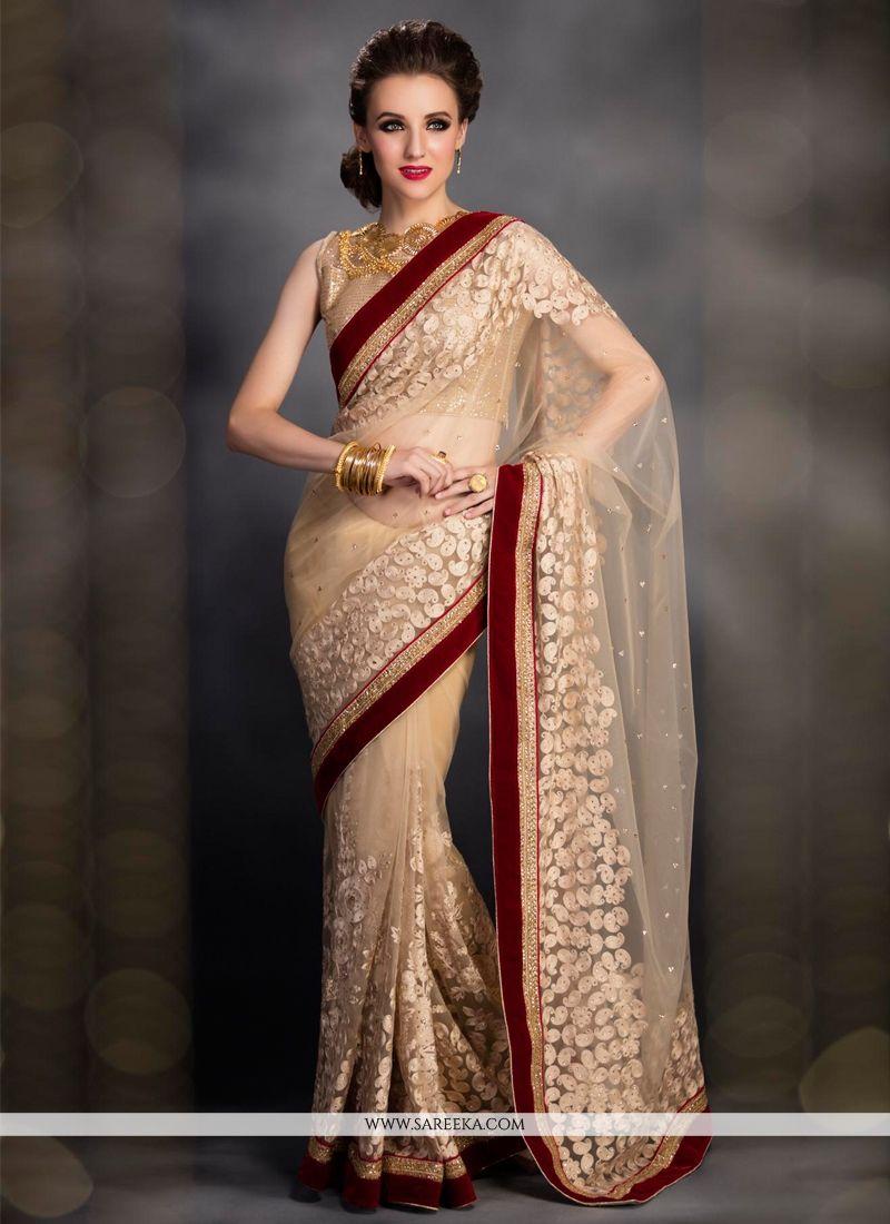 Net Designer Bridal Sarees