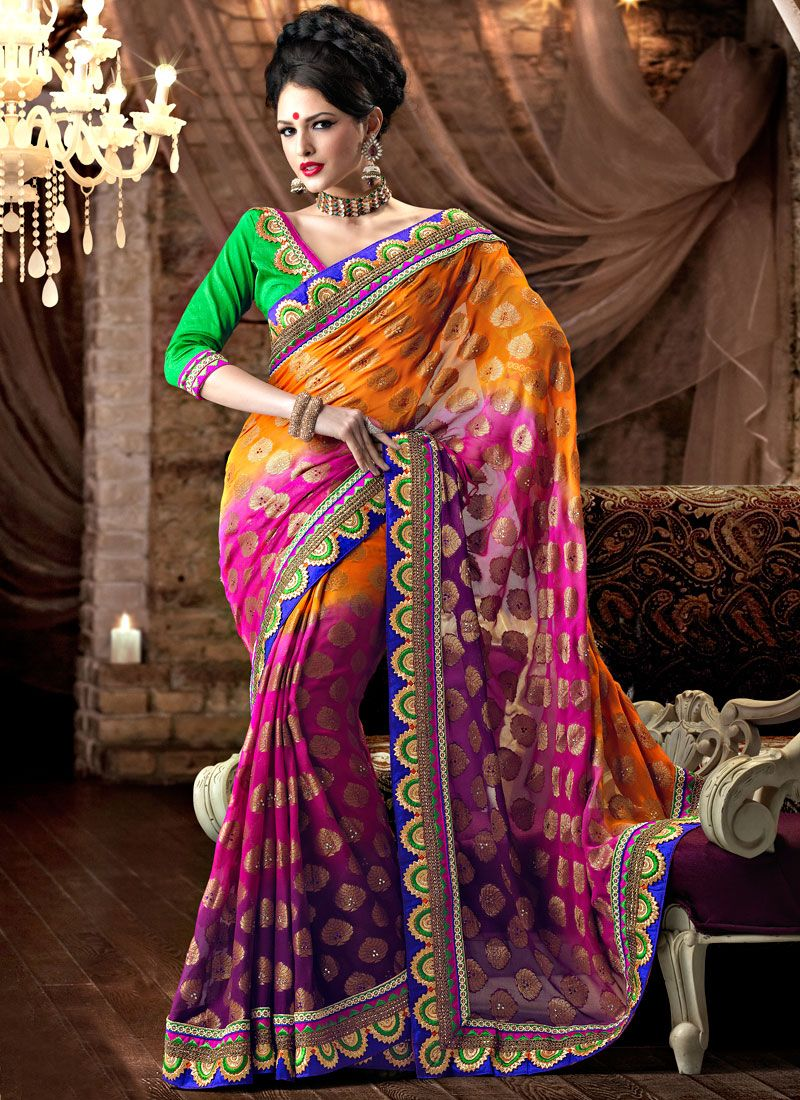 Look Viscose Saree