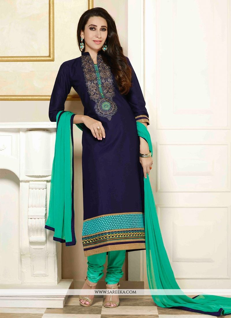 Karishma Kapoor Cotton   Churidar Salwar Suit