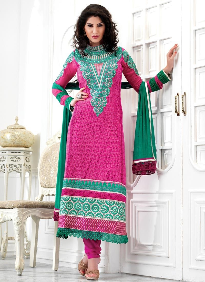 Latest churidar suits designs