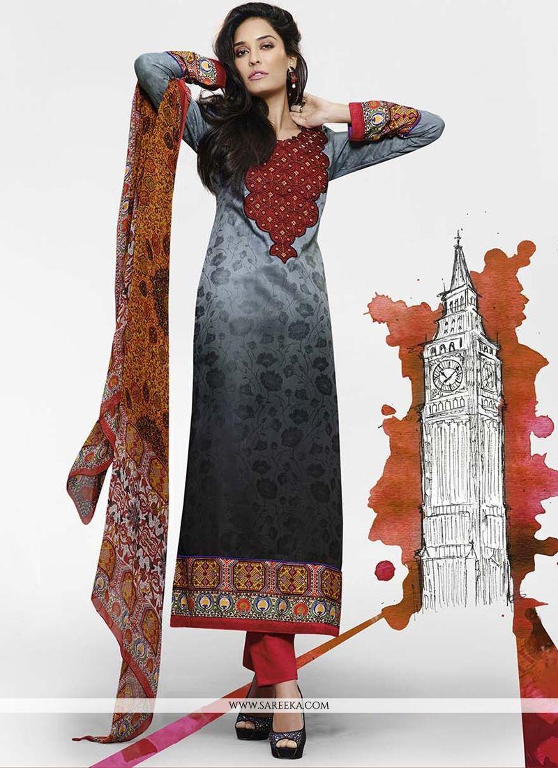 Lisa Haydon Jacquard Designer Salwar Kameez