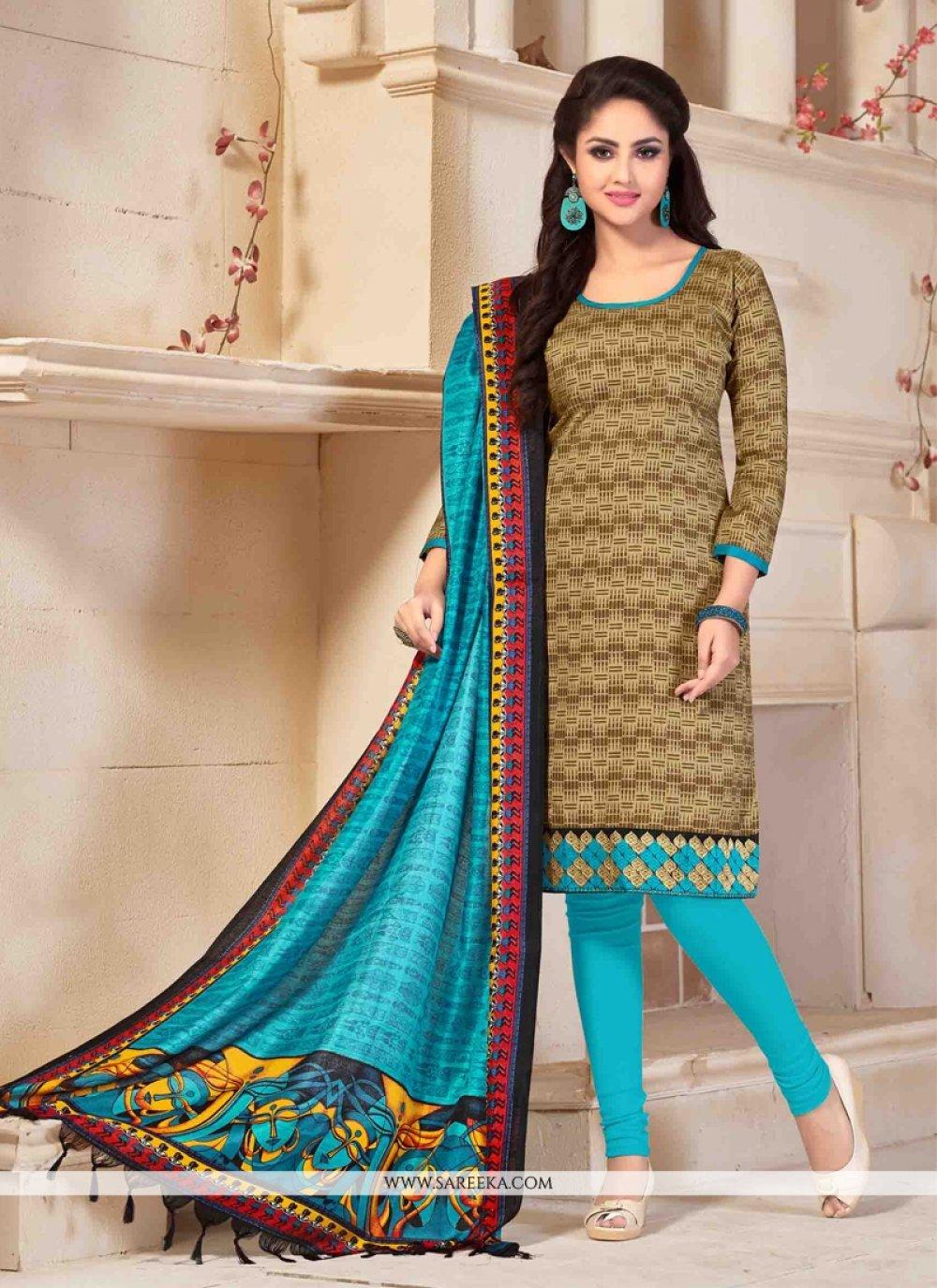 Banglori Silk Churidar Salwar Suit