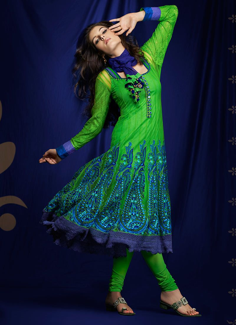 eae2493252 resham embroidered net Salwar Kameez -