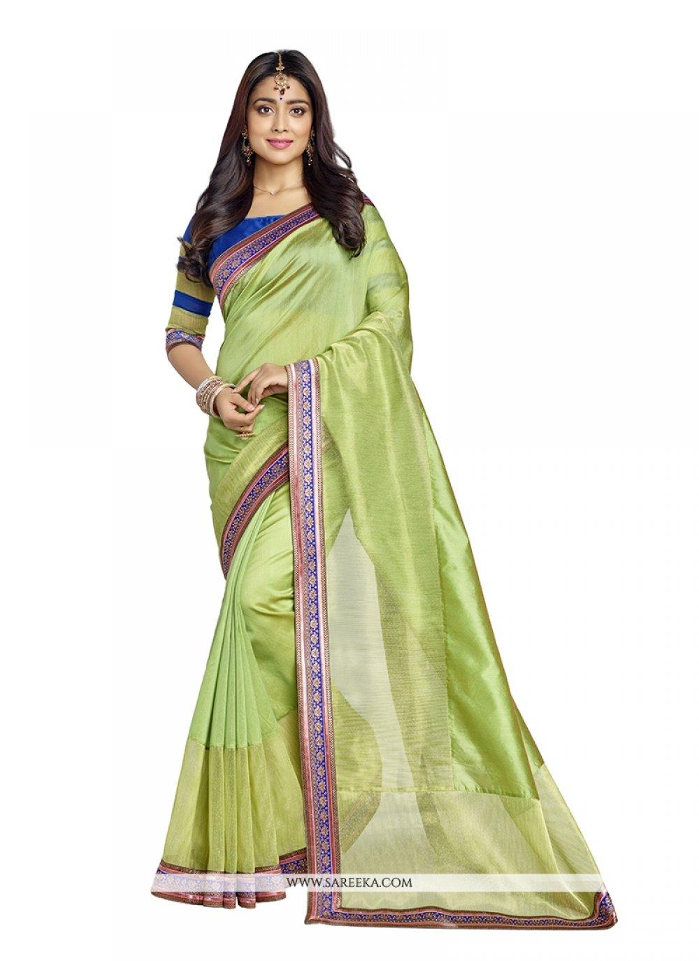 Banarasi Silk Embroidered Work Designer Saree