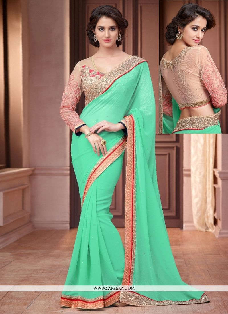 Casual Saree For Reception