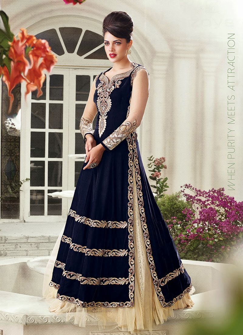 Navy Blue Wedding Lengha Unique Wedding Ideas