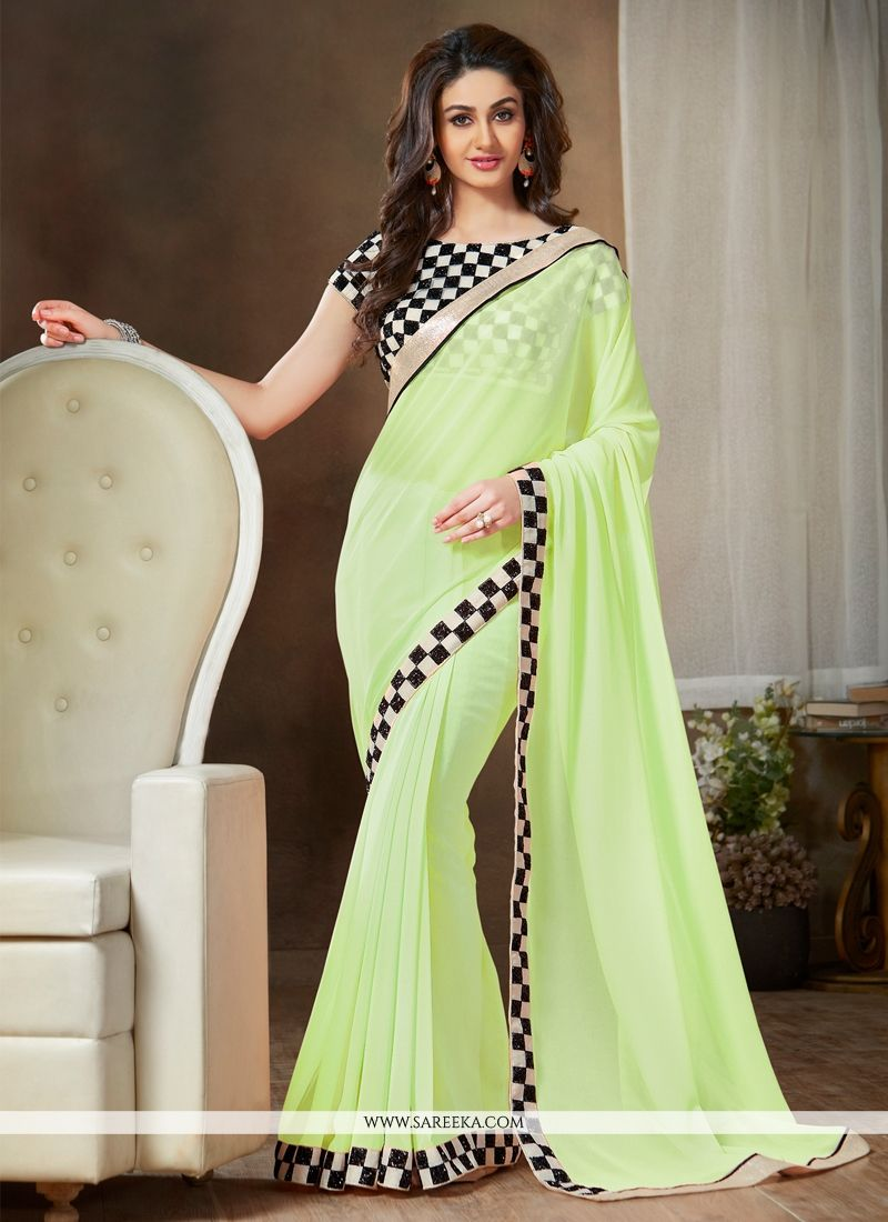 Georgette Casual Saree