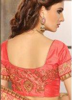 Jacquard Embroidered Work Designer Saree