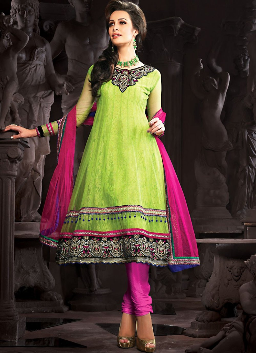Honeydew Anarkali