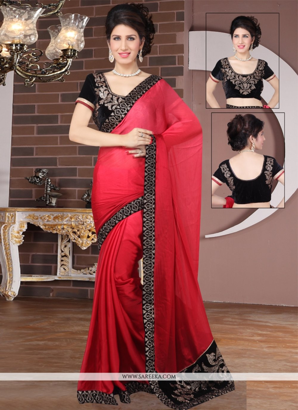 Designer Saree For Reception