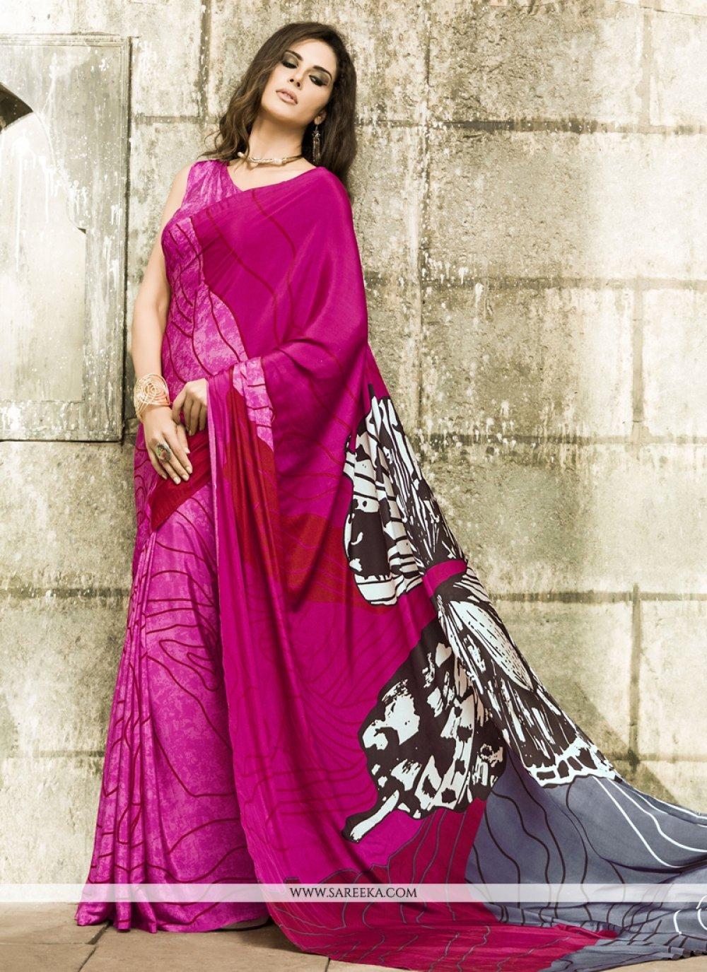 Crepe Silk Casual Saree