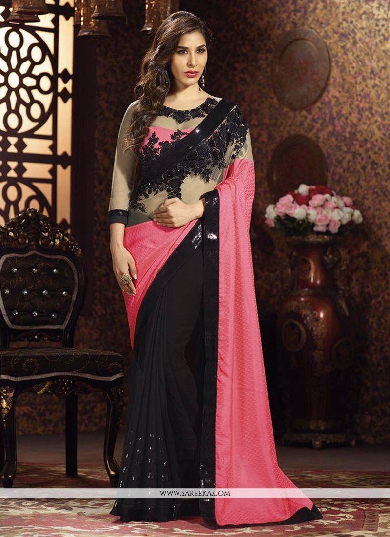 Sophie Chaudhary Resham Work Designer Saree