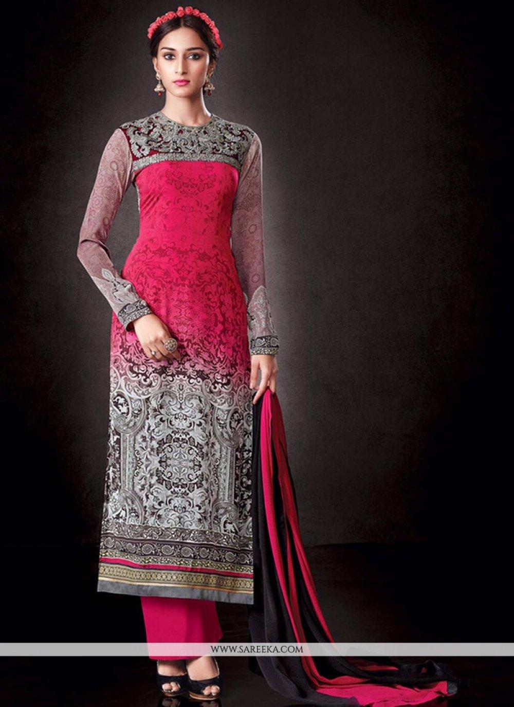 Pink Designer Pakistani Suit