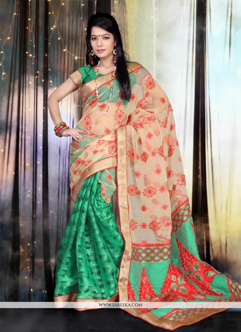 Tissue Designer Saree