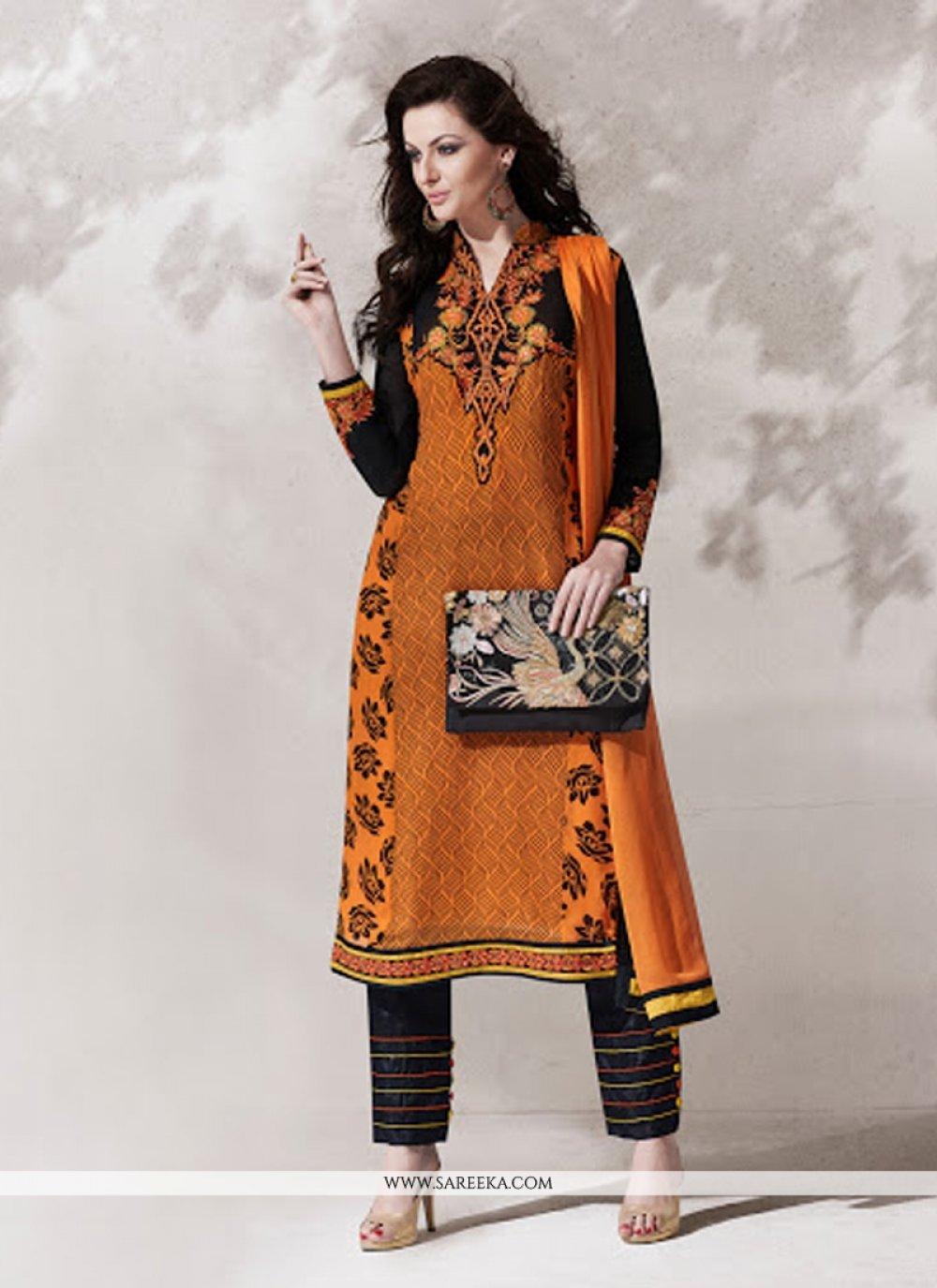Lace Work Designer Suit