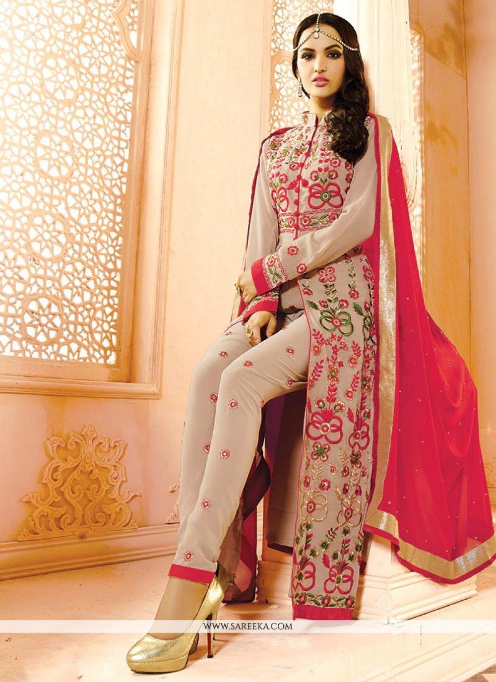 Embroidered Work Designer Salwar Suit