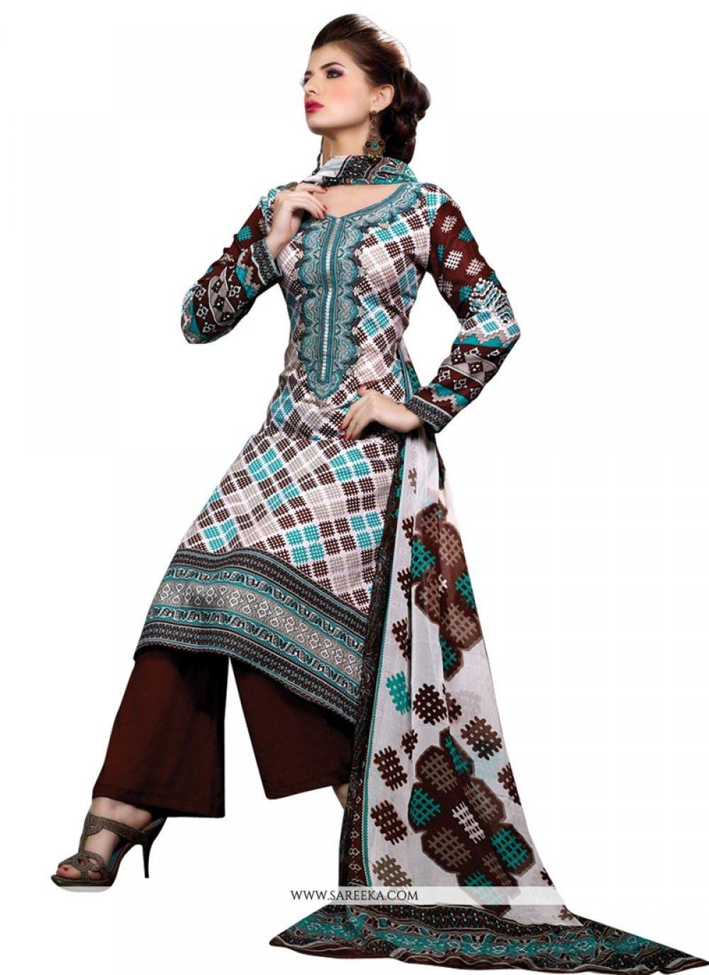 Vehemently Print Work Designer Suit