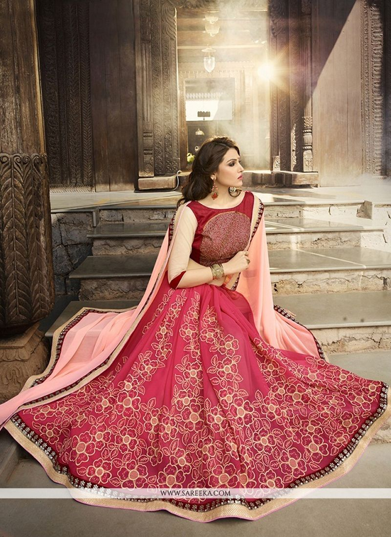 Georgette Embroidered Work Classic Designer Saree