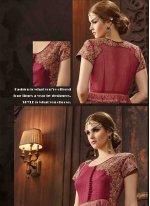 Bhagalpuri Silk Anarkali Salwar Kameez
