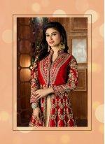Tafeta silk Resham Work Lehenga Choli