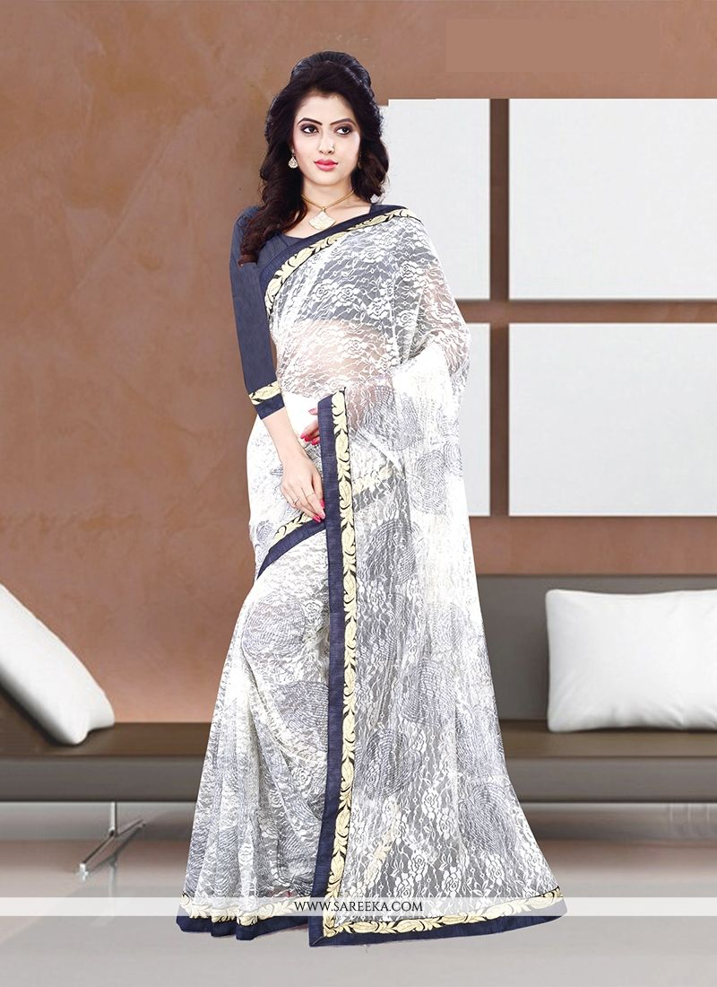 Print Work Handloom silk Casual Saree