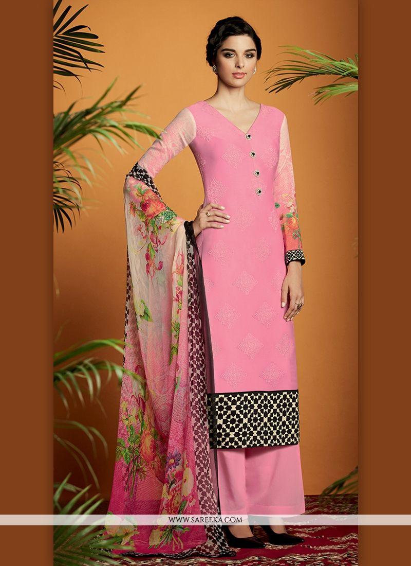 Cotton Satin Designer Suit