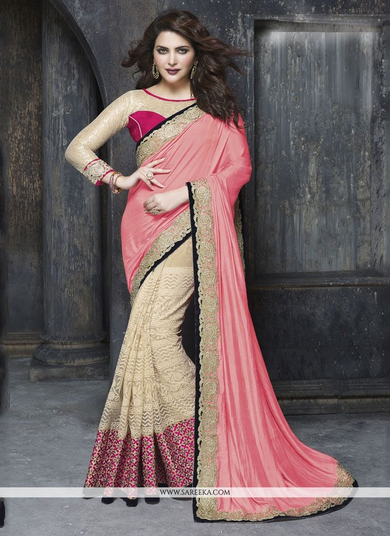 Art Silk Patch Border Work Classic Designer Saree