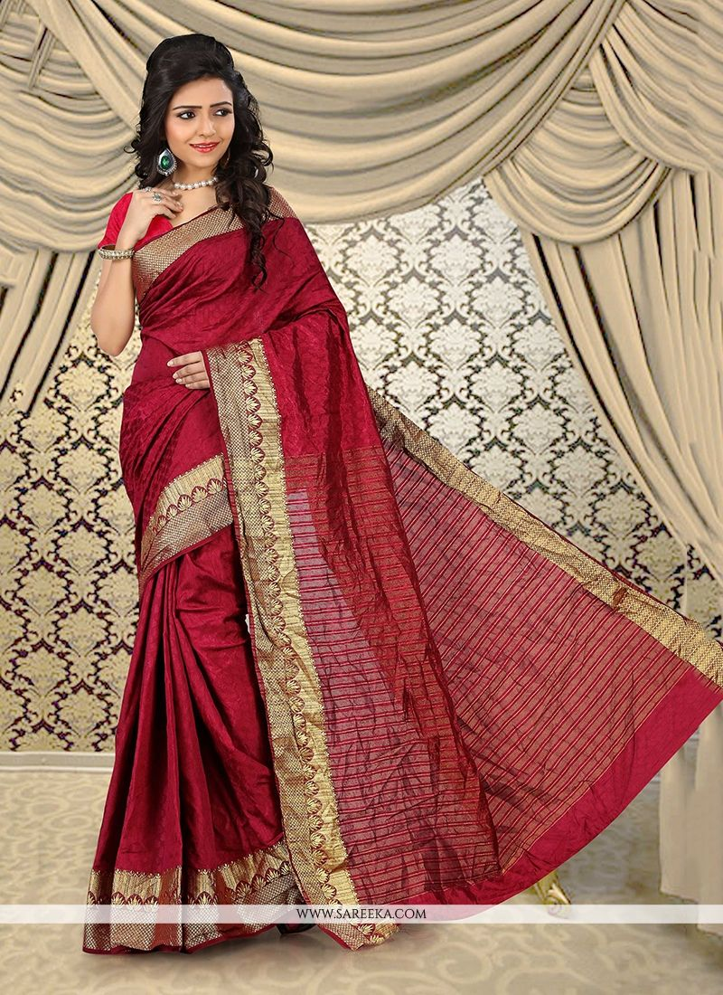 Cotton   Patch Border Work Casual Saree
