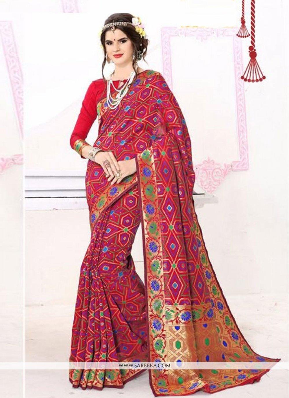 Banarasi Silk Designer Traditional Sarees