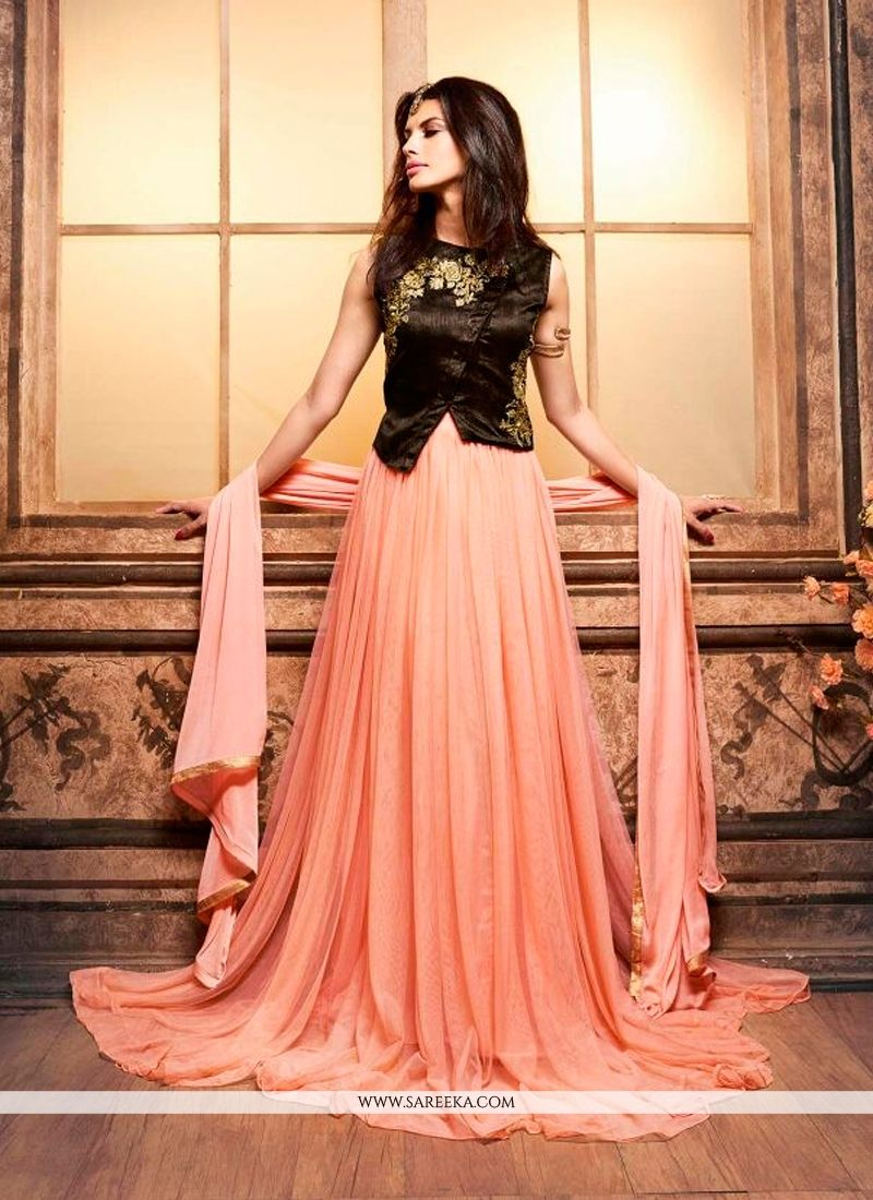 73ca384cc90 Floor Length Indo Western Dress